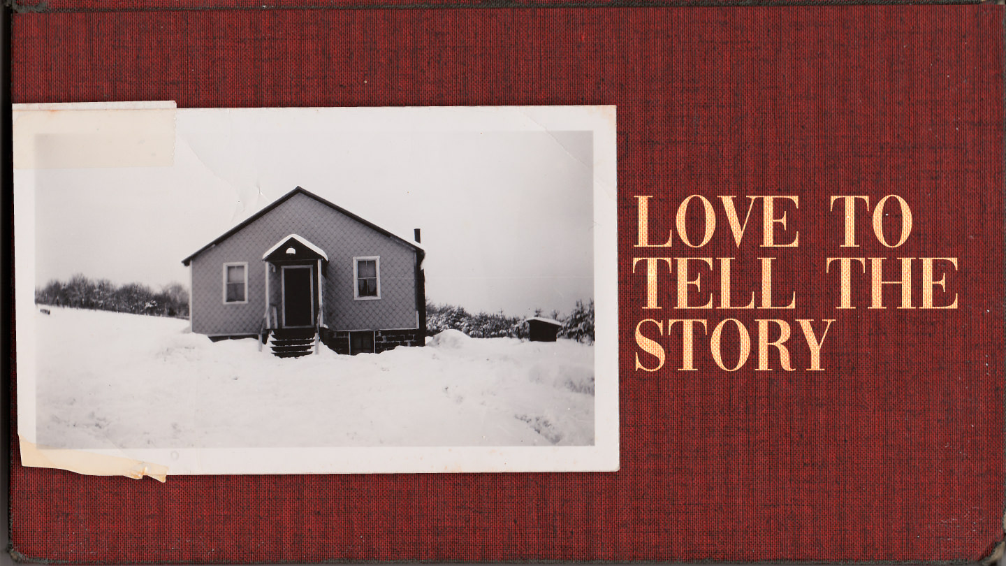 Love To Tell The Story graphic