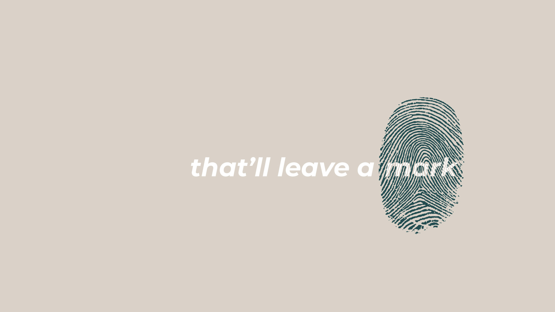 That'll Leave a Mark graphic