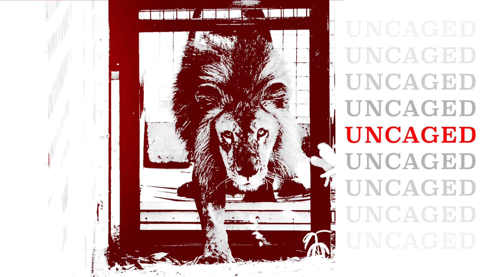 Uncaged graphic